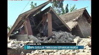 Indonesia Berduka, Bangunan di Lombok Rata dengan Tanah Akibat Gempa - iNews Pagi 13/08