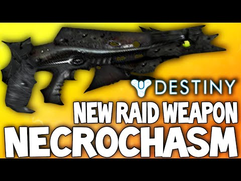 Destiny: The Necrochasm - Crotas End DLC Hard Mode Raid Exotic Gun Reward (The Vex Mythoclast 2)