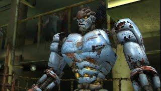Real steel world robot boxing-destruction(Ambush vs Zeus)ЖИВАЯ СТАЛЬ XBOX360/PS3