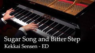 Download lagu Sugar Song and Bitter Step - Kekkai Sensen ED [Piano]