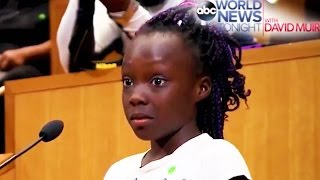Little Girl Gives AMAZING Speech About Police Violence at Charlotte City Council Meeting