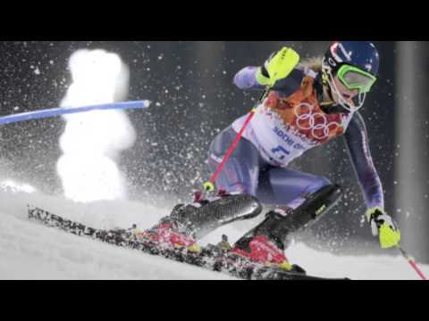 US Teen Mikaela Shiffrin Wins Slalom Gold