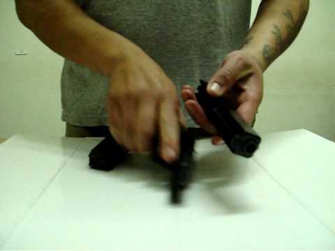 Glock desarme basico, sencilles mecanica.