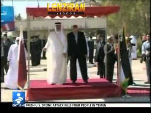 Tehran react to Qatari Emir visit to Gaza  : Emir enjoyed  Israel security during his trip !