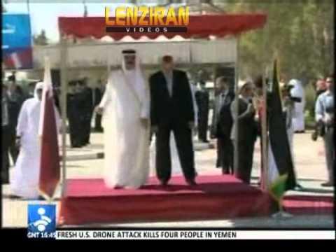 Tehran react to Qatari Emir visit to Gaza  : Emir enjoyed  Israel security during his trip !