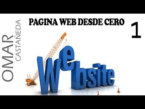 CREAR PAGINA WEB DESDE CERO PARTE 1