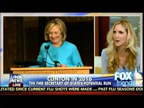 Respecting Our Attackers - Hillary Clinton Calls For Empathy - Ann Coulter - Fox & Friends