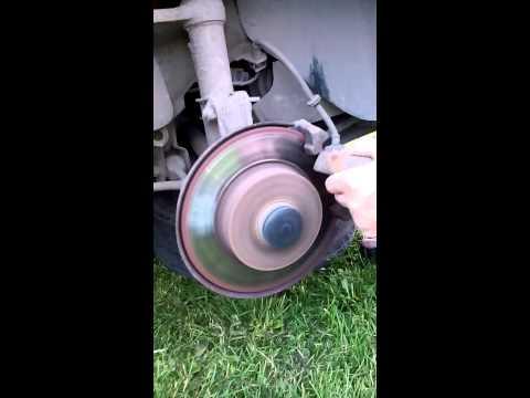 Правка тормозных дисков своими руками