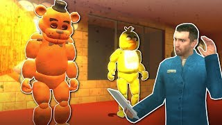 FNAF MULTIPLAYER in GMOD! - Garry's Mod Gameplay - Gmod FNAF Survival Map