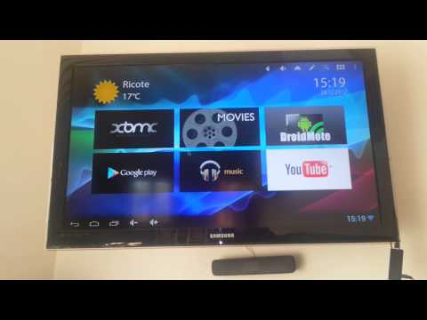 Android TV running 4.1 jelly bean
