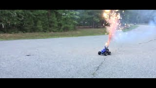 The RC Genius | Fireworks vs. RC Car!! 100 Subscriber Special!!!