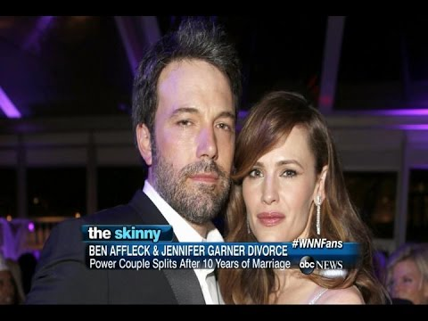 Ben Affleck and Jennifer Garner Divorce