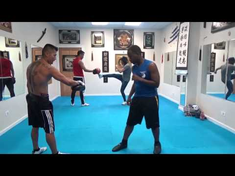 Focus Mitt Kick Punch Training 2 : July 23 2014 Image 1