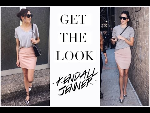 GET READY WITH ME - Kendall Jenner Inspired Look