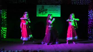 Palki te Bou Chole Jaye - Dance performance at Saraswati Puja 2015