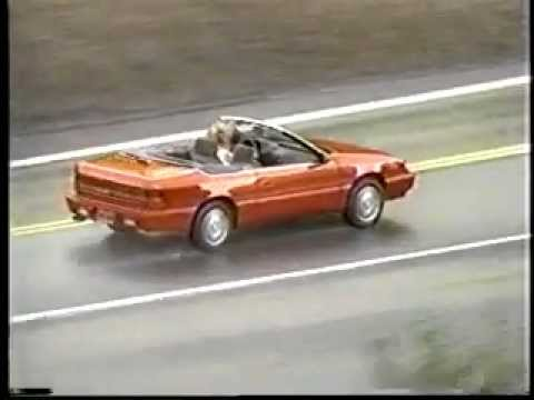 1995 chrysler lebaron convertible narrated running footage. Black Bedroom Furniture Sets. Home Design Ideas