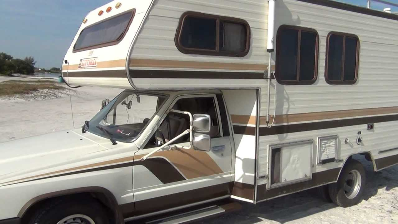 1985 TOYOTA HUNTSMAN MOTORHOME 4 CILINDER WITH AUTOMATIC ...