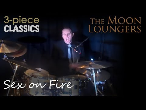 Sex On Fire By Kings Of Leon | Cover Version By The Moon Loungers 3 Piece Band video