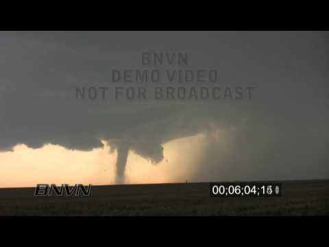 5/31/2010 Campo Colorado tornado video time lapse stock footage