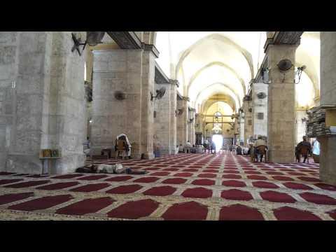 Azan Al Asr at Al Masjid Al Aqsa Al Quds (Jerusalem) Palestine...