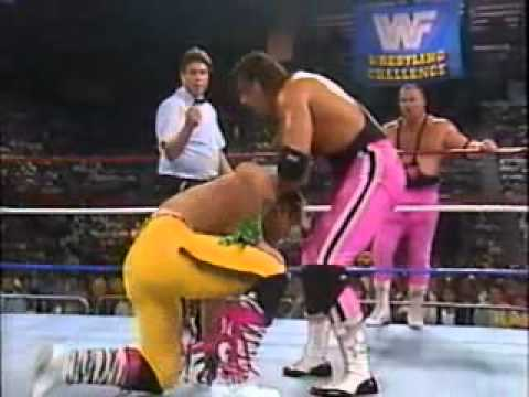 Hart Foundation vs. The Rockers (WWF 1990)