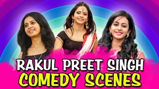 Rakul Preet Singh Comedy Scenes | South Indian Hindi Dubbed Best Comedy Scenes