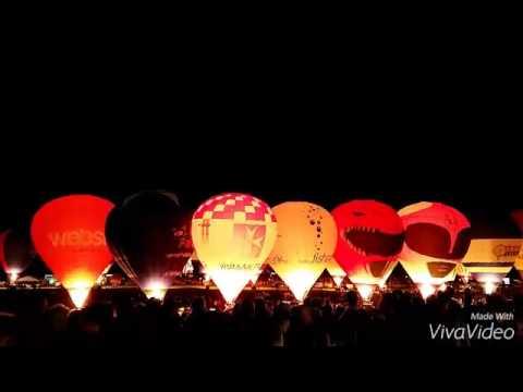Bristol Balloon Fiesta Night Glow Bristol Balloon Fiesta Night