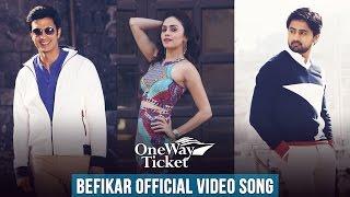 Befikar Full Video Song | One Way Ticket | Amruta Khanvilkar | Shashank Ketkar | Gashmeer Mahajani