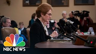 Watch Live: Trump Impeachment Inquiry Hearings - November 15, 2019 (Day 2) | NBC News