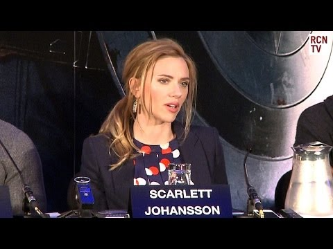 Scarlett Johansson Interview - Black Widow Movie