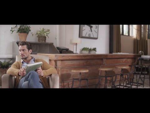 David Gandy para SELECTED Fashion Film 2014