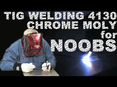 How to Weld 4130 Chrome Moly for Beginners
