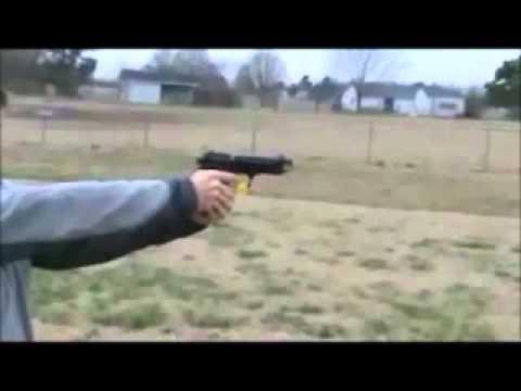 Jackal Full Auto Blank Firing Machine Gun Pistol - No FFL Required