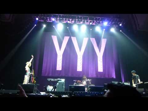 Yeah Yeah Yeahs - Date With The Night (Live) - Alexandra Palace - ATP - London - Sat 4 May 2013