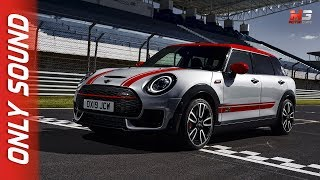 NEW MINI CLUBMAN JOHN COOPER WORKS 2019 - FIRST TEST ON TRACK ONLY SOUND