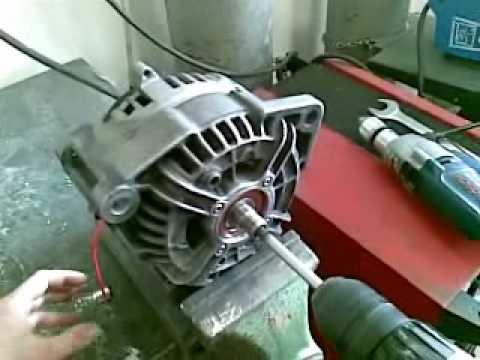 Generatore dinamo alternatore youtube for Costruire un temporizzatore 12v