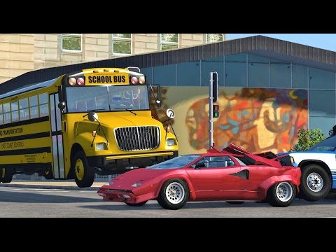 BeamNG Drive REALISTIC HIGH SPEED CRASHES #62