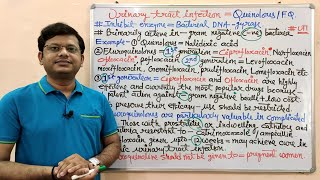 Urinary Tract Infection (Part-06) Quinolones = Pharmacology and MOA with Online Test Link (HINDI)