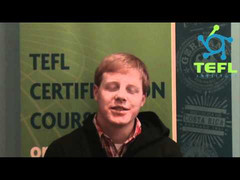 Student testimonials from TEFL Institute onsite class in Chicago