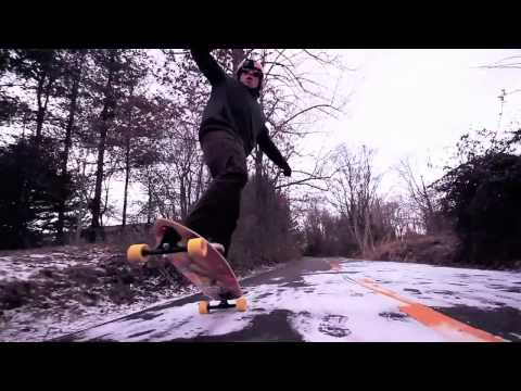 Longboarding: Virginia Winter Gnar