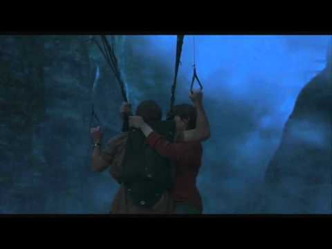 Paraglider vs Pterosaur on Jurassic Park 3