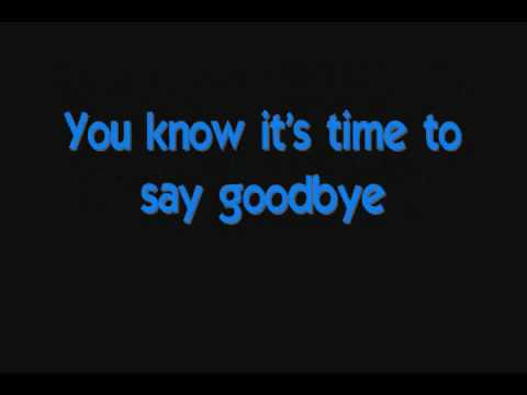 Spice Girls - Goodbye (lyrics) video