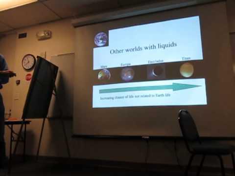 Chris McKay (NASA) at a Berkeley LASER