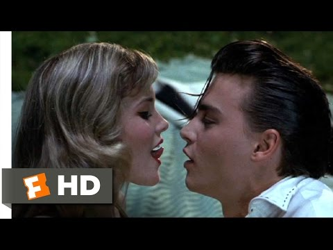 Cry-Baby Movie Clip - watch all clips http://j.mp/wyzMgZ click to subscribe http://j.mp/sNDUs5 Cry-Baby (Johnny Depp) teaches Allison (Amy Locane) how to kis...