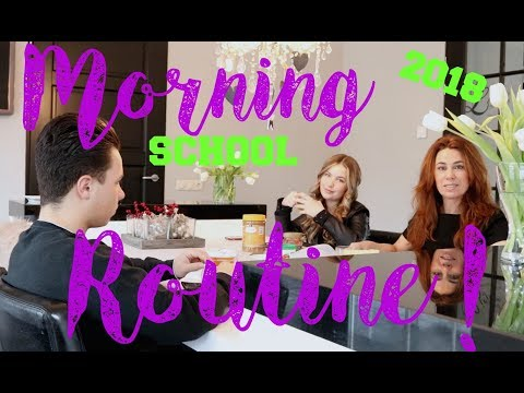 SCHOOL MORNING ROUTINE 2018 !!! | Morning Routine