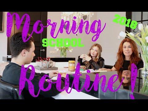 SCHOOL MORNING ROUTINE 💄BeautyNezz Routine 2018💄 | Morning Routine