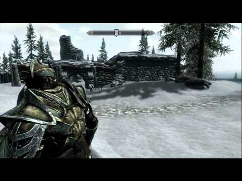 Skyrim - How To Find Glass Armor And The Dragonbane Sword