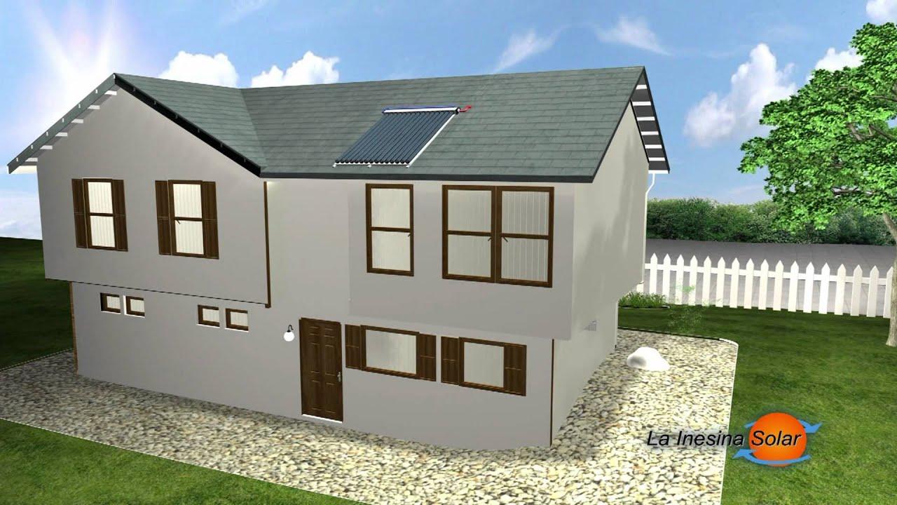 Como funciona un sistema solar para agua caliente y calefacci n domiciliaria lainesinasolar - Sistemas de calefaccion para viviendas unifamiliares ...
