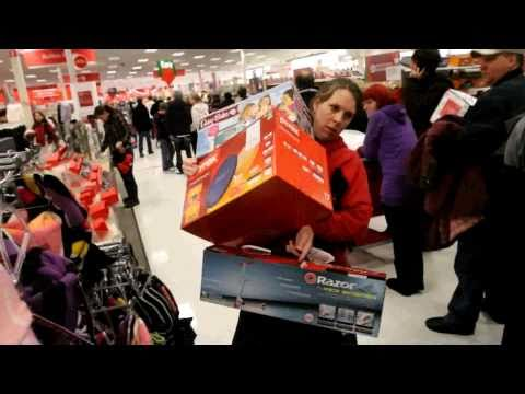 Shoppers go crazy on Black Friday