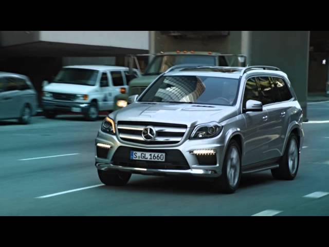 Mercedes 2013 GL-Class Action Film HD